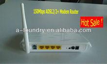 150Mbps Wireless ADSL2/2+ Modem Router