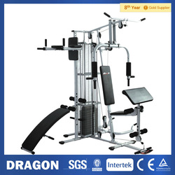 Multi-station Home Gym HG470 with Weight 220LB Fitness Exercise Equipment Dumbbell Weight Bench