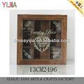 la moda de nueva casa multifuncional de madera decorativos de arte y artesanía de espuma insertos para caja de joyería