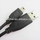 Black 10cm 15cm micro usb pl2303 cable