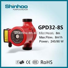 (GPD32-8S) Shinhoo Water Heating Central Circulation Pump