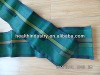dark green HDPE woven gravel bags for silo cover
