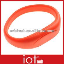 Gift Custom Bracelet USB Wristband Promotional USB Flash