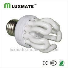14W E27 5U Lotus energy saving light/fluorescent light fixture