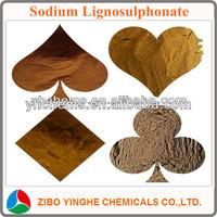 sodium lignin sulfonate common water reducing admixture