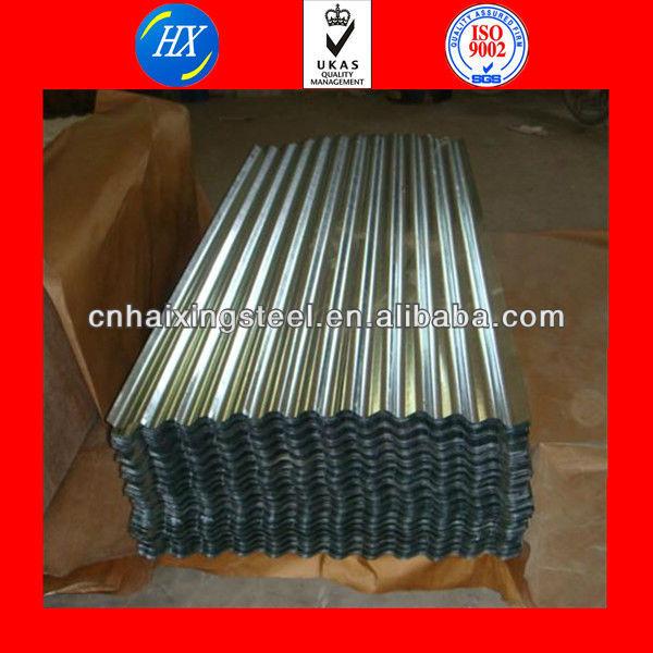 18 gauge galvanized corrugated sheet