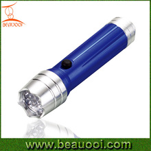 Portable camping 12led torch Aluminum LED Flashlight