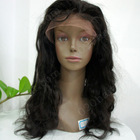 high quality fashion human hair lace wig for black women