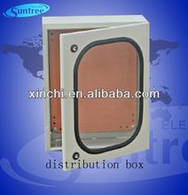 IP66 waterproof stainless steel plexiglass door power distribution box