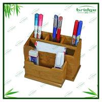 Modern bamboo desk accessories