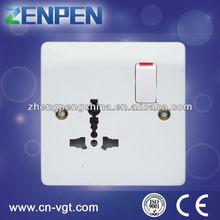 V8513MS 13 amp BS standard function socket and gang switch socket
