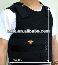 Full collar protection PE/ Aramid/Kevlar fabric bulletproof body armor with desert Camo