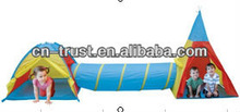 boy & girl 3 for 1 set play tent round roof + indian tent +tunnel