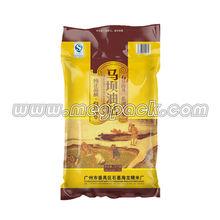 Vácuo arroz saco de plástico de embalagens