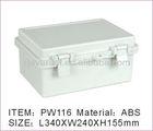 Hinged IP65 Waterproof enclosure Plastic Enclosure Box