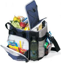 600D Polyester 24 -Can cooler bag lunch picnic bag beer can cooler bag