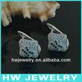 alfabe harfinden k gümüş küpe hwea22366