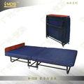 H-008 estándar doble plegable para arriba esponja/primavera sofá cama con los brazos
