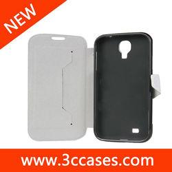 2013 Hot sale Wallet leather flip case for Samsung Galaxy S4 ,for Samsung Galaxy S4 Leather flip case