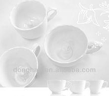 Ceramic mug cup with animal inside