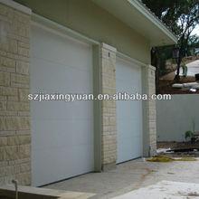 Automatic Waterproof Steel Building Sliding Garage Door