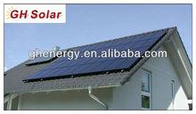 A grade High quality New Best 2000 watt poly solar panels