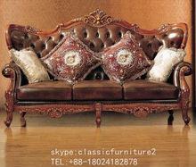 Hand craft European carved sofa, New classical sofa