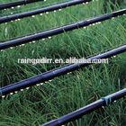 water saving inline round dripper type drip irrigation pipe