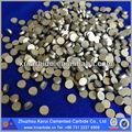 de corte de carburo de dientes para la minería hecho por el fabricante en zhuzhou de carburo cementado de base