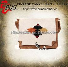 2013 aztec long strap women canvas messenger bag