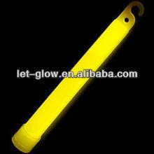 """Yellow 6 Inch Premium Glow Sticks ,Glow Lightstick ,Safety GLOW 6"""" Inch LIGHT STICKS 12 Hours"""
