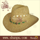 New fashion high quality paper cowboy hat patten