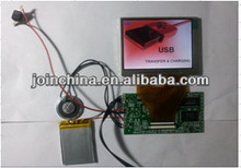 3.5 inch Video Greeting Card Module for Greeting Card
