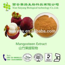 Natural Mangosteen P.E. /Mangosteen 10% in bulk /mangosteen peel extract