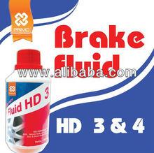 Car Care Product: BRAKE FLUID HD 3 & HD 4 (Vehicle Brake Maintenance)