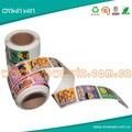 personalizzati pelabile laminato stratificato autoadesivo adesivo di carta