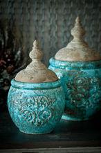 MM94 wholesale shabby chic decor ceramic jar