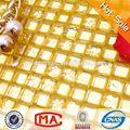 Jtc-1301 mosaico de azulejo de la pared cuadros decorativos para cuartos de baño de oro de la hoja de cristal del azulejo del mosaico