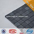 Jy-s-10 kare mozaik cips siyah mermer duvar karoları bahçe süslemeleri Mozaik çini