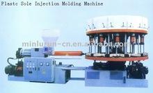 Maquina de inyeccion automatica de calzado usado