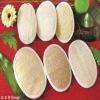 Disposable oval loofah/loofa/luffa bath scrub for hotel