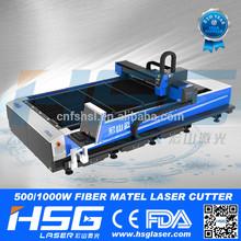 500w / 1000w stainless steel fiber laser cutting machine for sheet metal processing / kitchen ware / elevators
