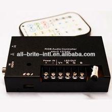 300W 3 channel RGB LED Controller Music Control