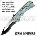 exército bolso faca dobrável faca de segurança