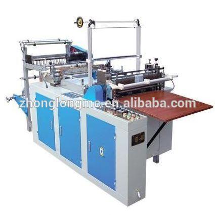 Automatic sealing and cutting bag making machine
