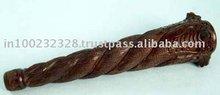 Wooden 4 Snake Pipe