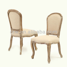 RCH-4008 Vintage French Louis Chairs Wooden Chairs