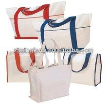 flaxen drawstring bag cotton ( wz6211)