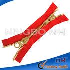 two ways Metal Brass Zipper, Brass Zips