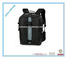 Big capacity professional high quality fashion dslr camera backpack